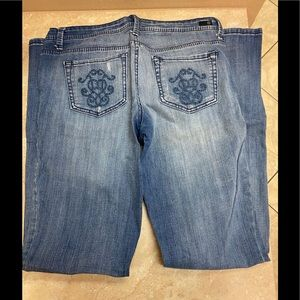 Jessica Simpson embroidered jeans